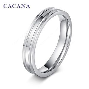 Stainless Steel Silver Fashion Ring
